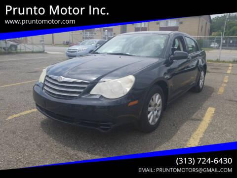 2010 Chrysler Sebring for sale at Prunto Motor Inc. in Dearborn MI