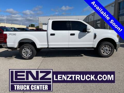 2018 Ford F-250 Super Duty for sale at LENZ TRUCK CENTER in Fond Du Lac WI