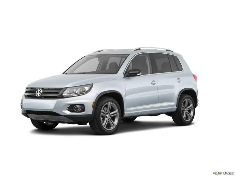 2017 Volkswagen Tiguan for sale at Jensen's Dealerships in Sioux City IA