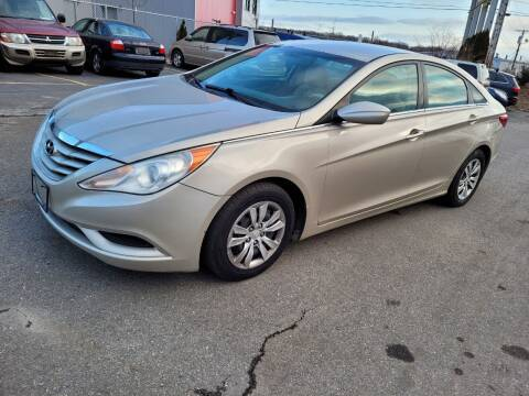 2011 Hyundai Sonata for sale at JG Motors in Worcester MA