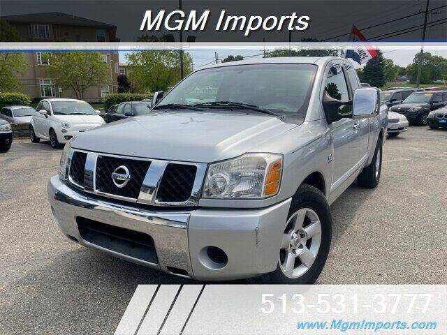 2004 Nissan Titan for sale at MGM Imports in Cincinnati OH