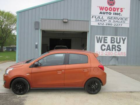2019 Mitsubishi Mirage for sale at Woody's Auto Sales Inc in Randolph MN