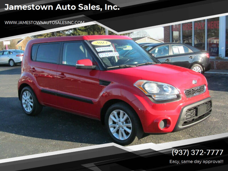 2013 Kia Soul for sale at Jamestown Auto Sales, Inc. in Xenia OH