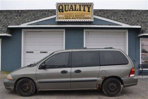 2003 Ford Windstar for sale at Quality Pre-Owned Automotive in Cuba MO