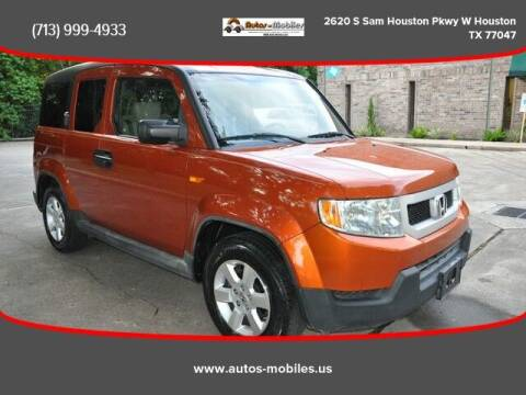 2010 Honda Element for sale at AUTOS-MOBILES in Houston TX