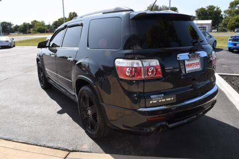 2011 GMC Acadia for sale at Heritage Automotive Sales in Columbus in Columbus IN