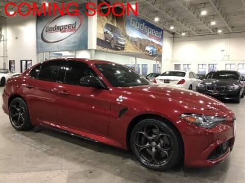 2018 Alfa Romeo Giulia Quadrifoglio for sale at Godspeed Motors in Charlotte NC