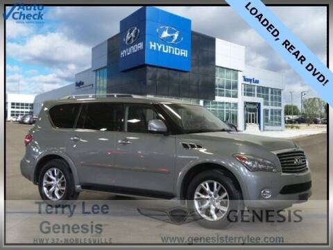 2012 Infiniti QX56 for sale at Terry Lee Hyundai in Noblesville IN