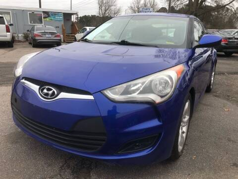 2014 Hyundai Veloster for sale at Atlantic Auto Sales in Garner NC