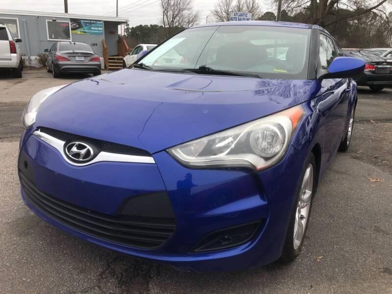 2014 Hyundai Veloster for sale at Atlantic Auto Sales in Garner NC