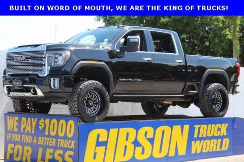 2020 GMC Sierra 2500HD for sale at Gibson Truck World in Sanford FL