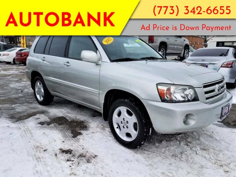 2007 Toyota Highlander for sale at AutoBank in Chicago IL