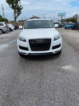2013 Audi Q7 for sale at Lucky Motors in Panama City FL