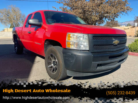 2010 Chevrolet Silverado 1500 for sale at High Desert Auto Wholesale in Albuquerque NM