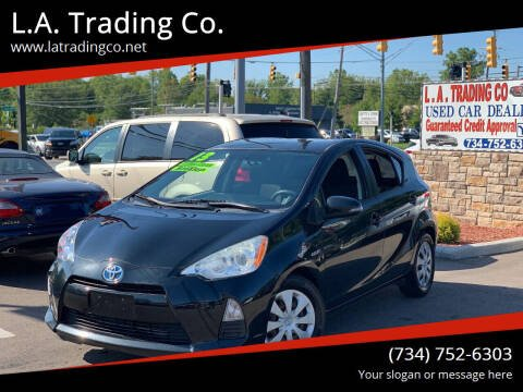 2013 Toyota Prius c for sale at L.A. Trading Co. Woodhaven in Woodhaven MI