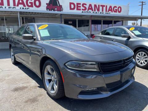 2016 Dodge Charger for sale at DESANTIAGO AUTO SALES in Yuma AZ