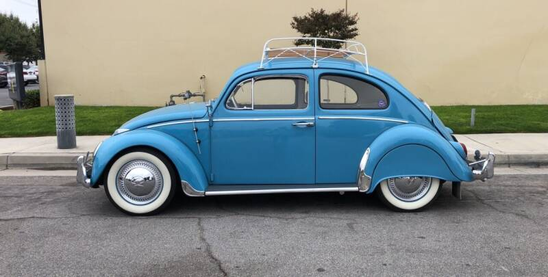 1963 Volkswagen Beetle for sale at HIGH-LINE MOTOR SPORTS in Brea CA