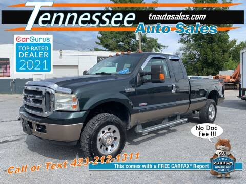 2006 Ford F-250 Super Duty for sale at Tennessee Auto Sales in Elizabethton TN