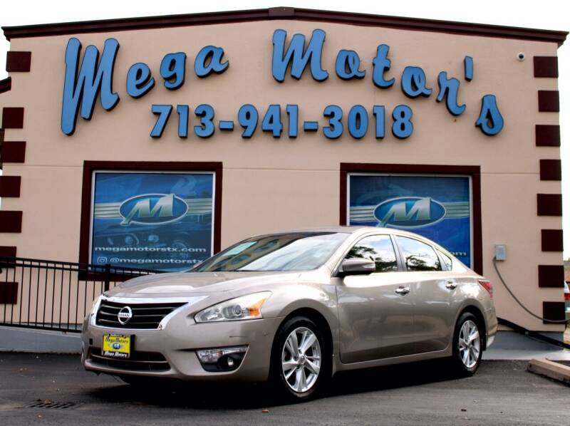 2013 Nissan Altima for sale at MEGA MOTORS in South Houston TX
