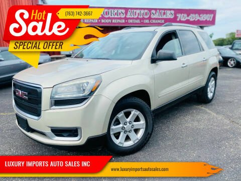 2015 GMC Acadia for sale at LUXURY IMPORTS AUTO SALES INC in North Branch MN