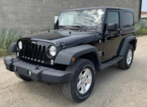 2014 Jeep Wrangler for sale at Torgerson Auto Center in Bismarck ND