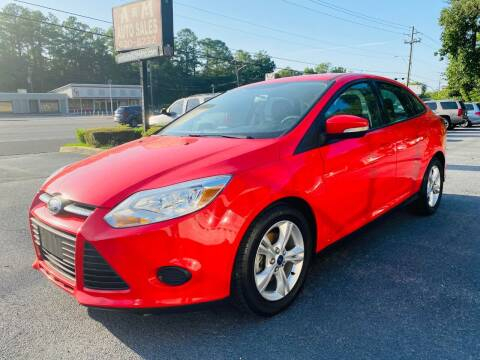 2013 Ford Focus for sale at A & M Auto Sales, Inc in Alabaster AL