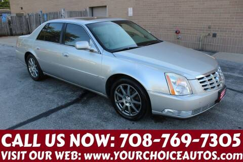 2007 Cadillac DTS for sale at Your Choice Autos in Posen IL