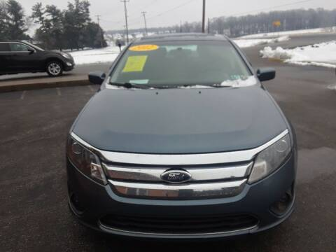 2012 Ford Fusion for sale at Dun Rite Car Sales in Downingtown PA