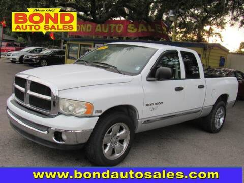 2005 Dodge Ram Pickup 1500 for sale at Bond Auto Sales in St Petersburg FL