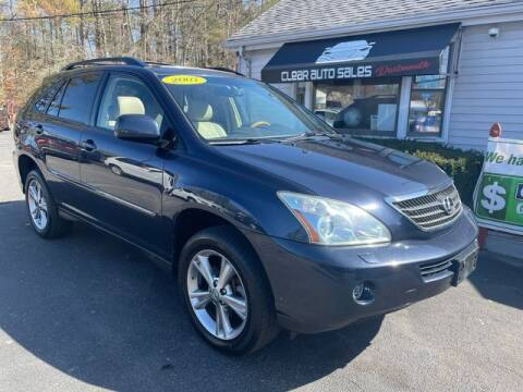 2007 Lexus RX 400h for sale at Clear Auto Sales 2 in Dartmouth MA