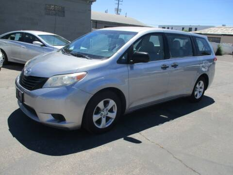 2011 Toyota Sienna for sale at Major Car Inc in Murray UT