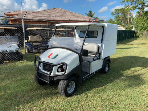2019 Club Car Carry All 500 for sale at Key Carts in Homestead FL