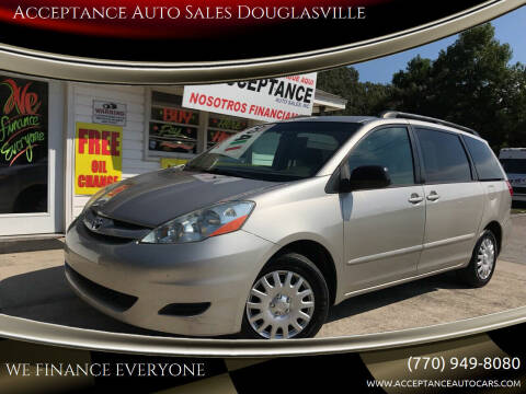 2008 Toyota Sienna for sale at Acceptance Auto Sales Douglasville in Douglasville GA