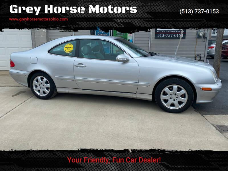 2002 Mercedes-Benz CLK for sale at Grey Horse Motors in Hamilton OH