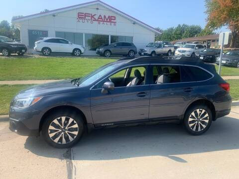 2017 Subaru Outback for sale at Efkamp Auto Sales LLC in Des Moines IA