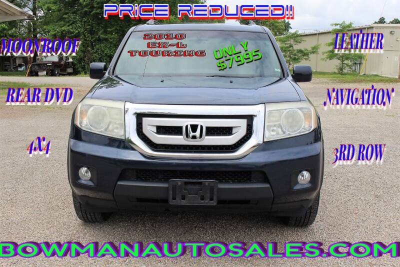 2010 Honda Pilot for sale at Bowman Auto Sales in Hebron OH