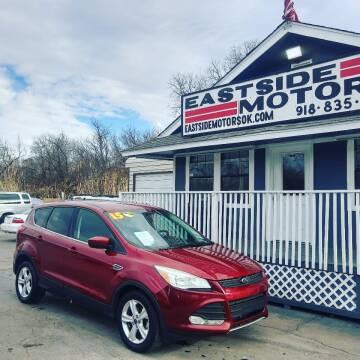 2015 Ford Escape for sale at EASTSIDE MOTORS in Tulsa OK