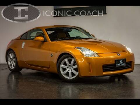 2003 Nissan 350Z for sale at Iconic Coach in San Diego CA