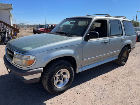1995 Ford Explorer for sale at PYRAMID MOTORS - Fountain Lot in Fountain CO
