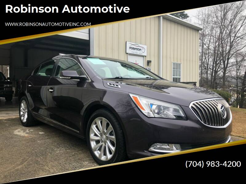 2014 Buick LaCrosse for sale at Robinson Automotive in Albemarle NC