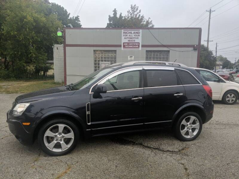 2014 Chevrolet Captiva Sport for sale at Richland Motors in Cleveland OH
