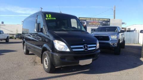 2012 Mercedes-Benz Sprinter Passenger for sale at Advantage Motorsports Plus in Phoenix AZ