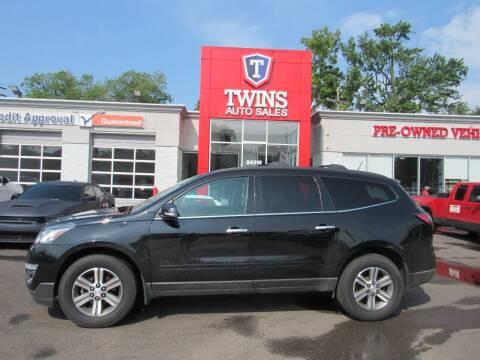 2016 Chevrolet Traverse for sale at Twins Auto Sales Inc in Detroit MI