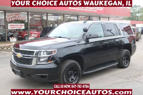 2017 Chevrolet Tahoe for sale at Your Choice Autos - Waukegan in Waukegan IL