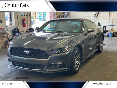 2016 Ford Mustang for sale at JK Motor Cars in Pittsburgh PA