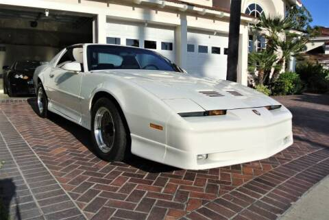 1989 Pontiac Firebird for sale at Newport Motor Cars llc in Costa Mesa CA