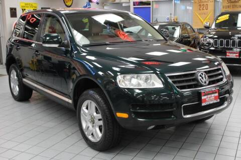 2005 Volkswagen Touareg for sale at Windy City Motors in Chicago IL