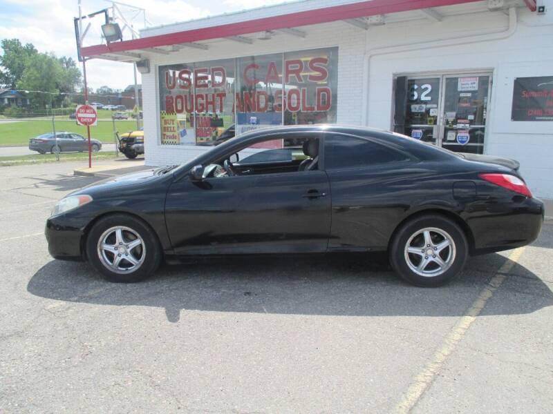 2005 Toyota Camry Solara for sale at Summit Auto Sales Inc in Pontiac MI