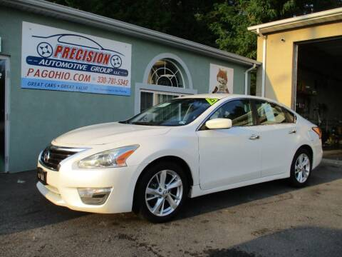 2013 Nissan Altima for sale at Precision Automotive Group in Youngstown OH