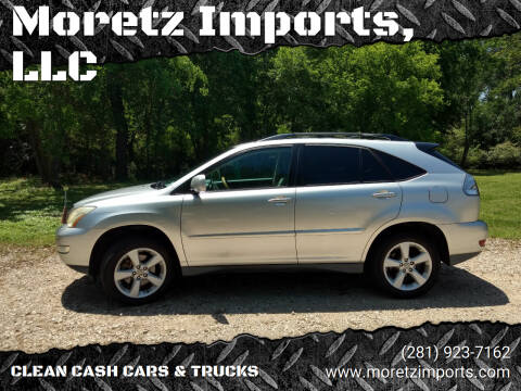 2006 Lexus RX 330 for sale at Moretz Imports, LLC in Spring TX